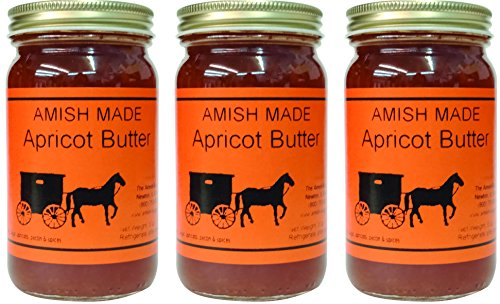 Flavored Butters Apricot - 8 Oz Jar - Qty 3 Jars