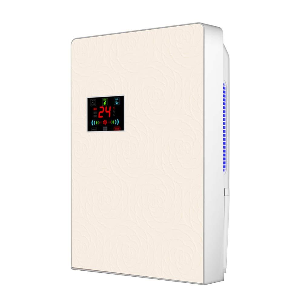 WUFENG 除湿機 家庭 小さい 吸湿乾燥機 空気浄化 解凍 一定の湿度 ミュート コンパクト 80W (色 : ゴールド, サイズ さいず : 245x130x365mm) 245x130x365mm ゴールド B07GPKM896