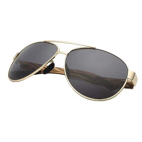 HLW Sports-sungl Gafas de Sol polarizadas Templos de Fibra ...