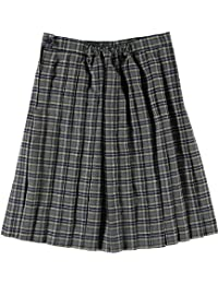 Cookie's Brand Big Girls' Pleated Skirt - gray/blue/white/gold *plaid #42*, 20
