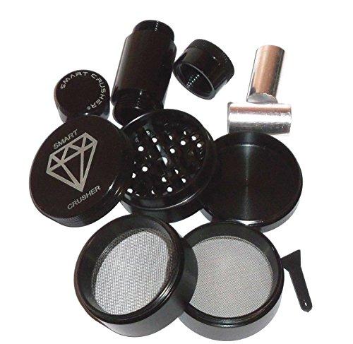 Smart Crusher Titanium Pollen Grinder product image