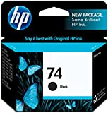 HP 74 Black Inkjet Print Cartridge