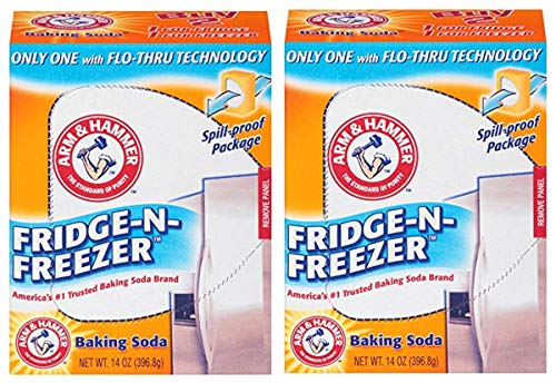 Arm & Hammer SWHY Fridge-n-Freezer Baking Soda, 12 Boxes, 14 Ounce, 2 Pack by Arm & Hammer (Image #1)