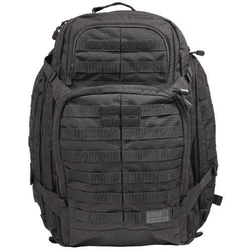 5.11 3 Day Rush Backpack, Black, Outdoor Stuffs
