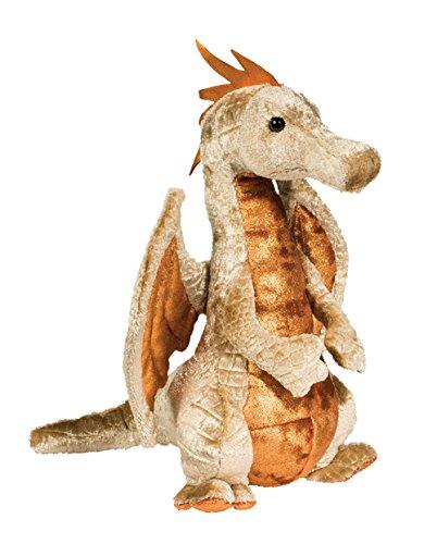 (Cuddle Toys 718 Elgar Copper Dragon Plush Toy)