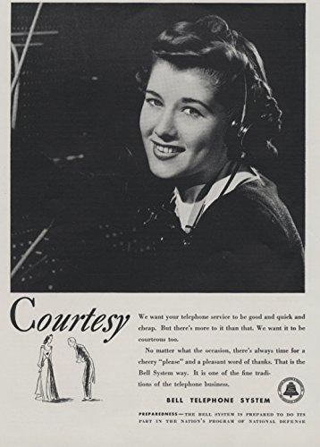 Telephones Courtesy (1940 BELL TELEPHONE