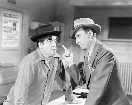 Here Come The Co-Eds From Left Lou Costello Bud Abbott 1945 Photo Print (28 x 22)