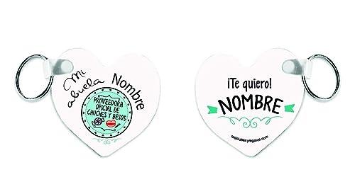 Y Todoideas Llavero De Chuches Proveedora Corazón Oficial Mi Abuela MqSzGUVp