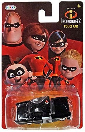 Incredibles 2 Police Car Die Cast 1:64 - Báscula: Amazon.es: Juguetes y juegos