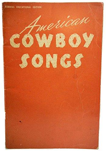 American Cowboy Songs