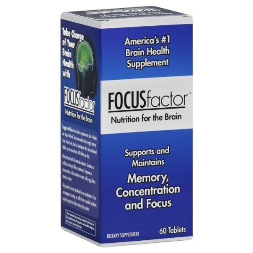 Focus Factor Brain Support, Tablets 60 ea by Focus Factor