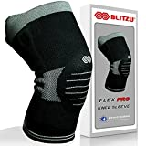 BLITZU Flex Professional Compression Knee Brace Support for Arthritis Relief