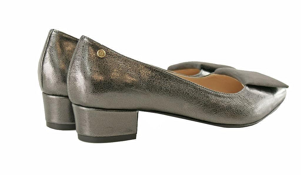 BOSCCOLO 4298 Pumps Schuhe Metallic grau grau grau Metallic Grau 38986d