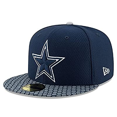 New Era Dallas Cowboys 2017 Sideline 59FIFTY Fitted Hat - Blue