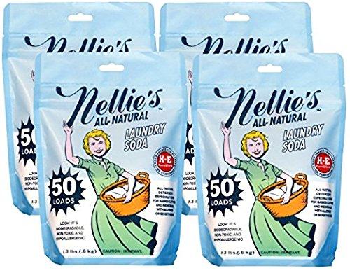 Nellie's Natural Formula Laundry Soda 50-Load Set - 4 Packs