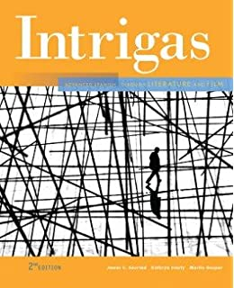 Intrigas advanced spanish through literature and film vista higher intrigas 2nd looseleaf student edition fandeluxe Images