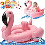 Baby Swimming Ring Pool Float Inflatable Swim Float Dount Ring Seat Inflatable Flamingo Kid Swimming Float Pool Summer Tube Raft Summer Water Toy