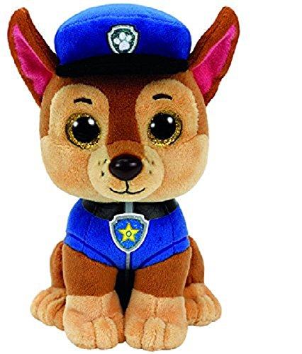 Ty Beanie Boo's Paw Patrol Chase Shepard dog Plush  Stuffed