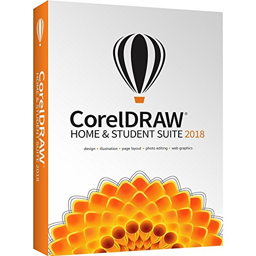 Software : CorelDRAW Home & Student Suite 2018 for PC