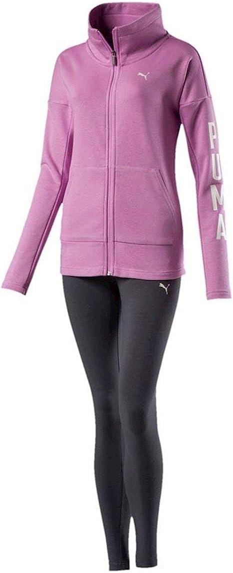 PUMA 852456 41 - Chándal para Mujer, diseño de Leggin, Color Rosa ...