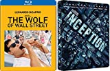 Leo Double Pack Inception & The Wolf of Wall Street Exclusive Blu Ray 2 Movie set Feature Special Edition Leonardo DiCaprio Set