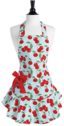 Jessie Steele Kitchen Cherry Josephine Apron