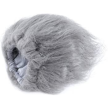 """Movo WS2 Furry Outdoor Microphone Windscreen Muff for Medium Microphones up to 3"""" X 80mm (L x D) - Fits the Rode Videomic Pro VMP and More (Light Gray)"""