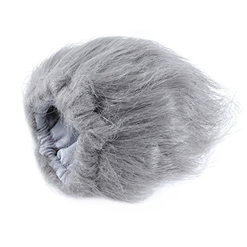 Fur Windscreen - Movo WS2 Furry Outdoor Microphone Windscreen Muff for Medium Microphones up to 3