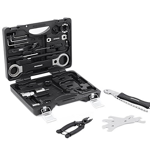 IRONARM Best Value Professional Bicycle Tool Kit Professional Tool Kit. Good Bicycle Repair Tools, Wrench, Chain, Spanner, Allen Key Set and more. by IRONARM (Image #2)