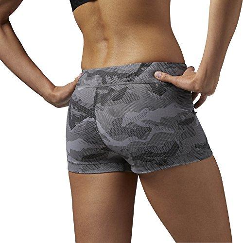 Reebook OS Nylux Short - Pantalón corto para mujer Gris - carbón