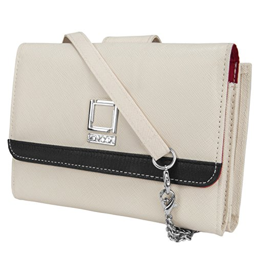 Shoulder Handbag Black Ivory for Xolo Phones by Lencca