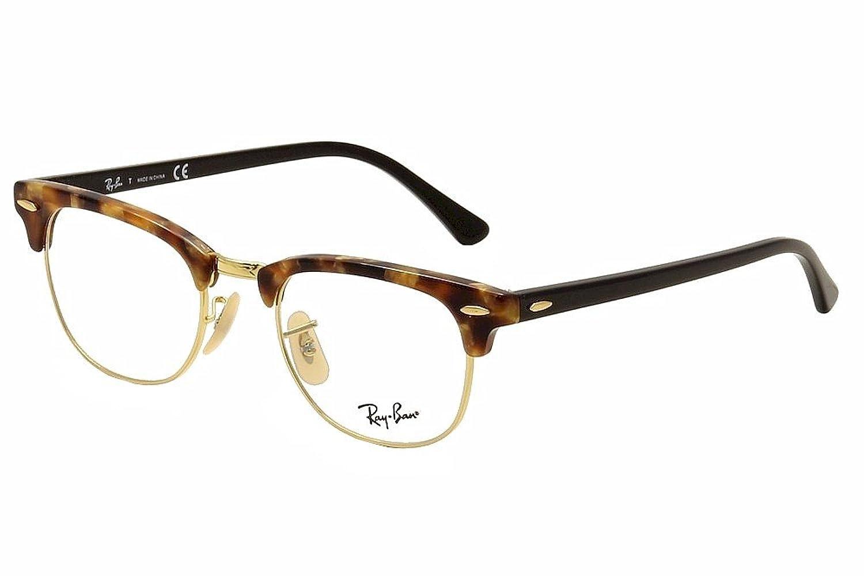 Eyeglasses Ray Ban Vista Rx 5154 5494 Brown Havana