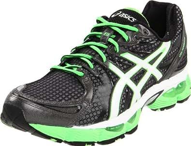 ASICS Men's GEL-Nimbus 13 Running Shoe,Storm/Onyx/Electric Apple,13.5 M US
