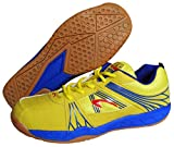 Proase BG 004 Non Marking Badminton Shoes - Yellow (Size 5 UK)