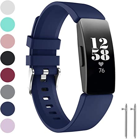 Image of Ansblue Correa Compatible para Fitbit Inspire HR/Fitbit Inspire/Fitbit Ace 2 Correa, Correa Compatible para Fitbit Inspire HR/Fitbit Inspire/Fitbit Ace 2, Pulsera Mujer Hombre Strap