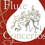 Ryo Iijima / Mirai Iijima - Flute Concertos Accompanied With Piano By Composer [Japan CD] ALCD-9168