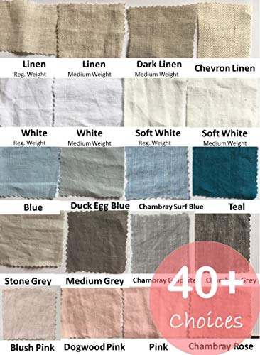 Linen Swatches, linen fabric swatch, full color cataglogue for our linen bedding, linen baby bedding, bed linens, linen sheets, duvet cover, FREE SHIPPING