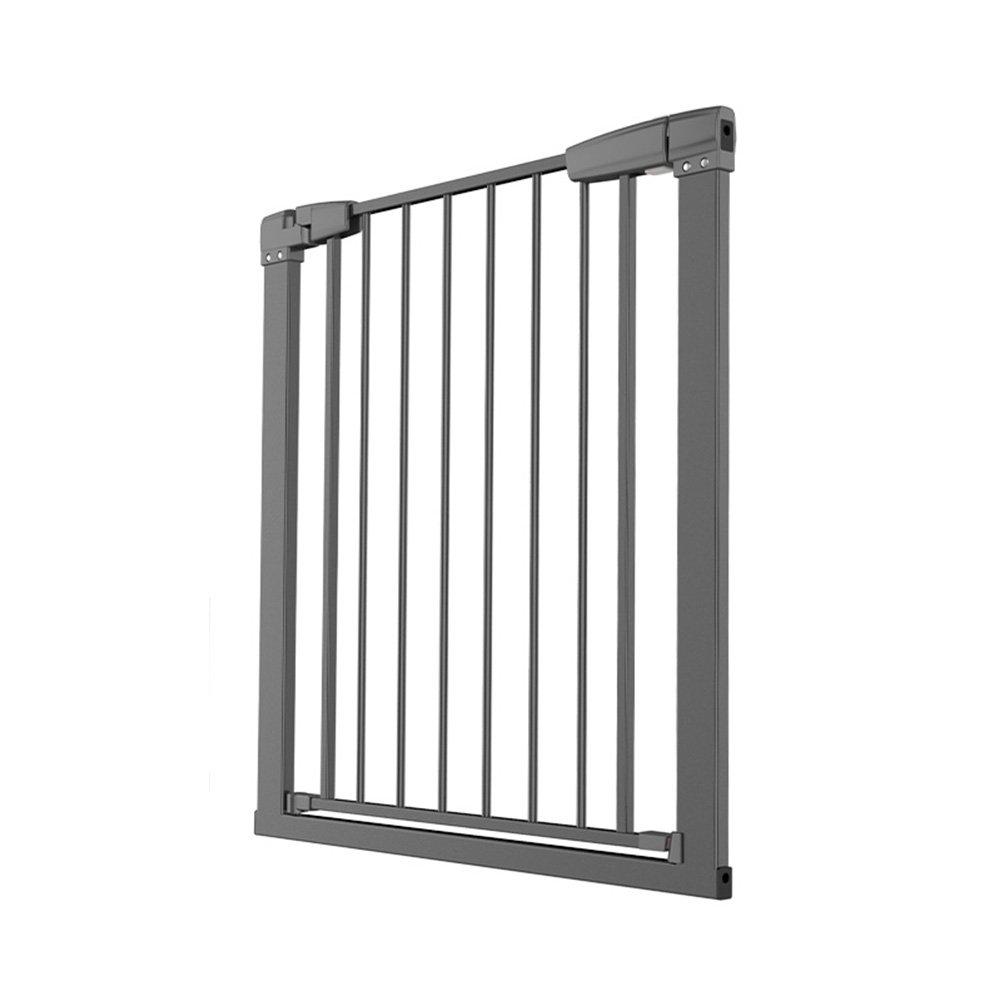 ベビーセーフティーゲートペットドアバー黒安全で信頼性の高い複数の場所をご利用いただけます階段手すり   B07GW79HD1
