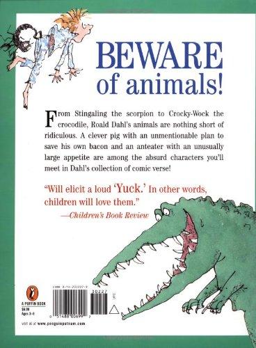 Amazon Com Dirty Beasts 9780142302279 Roald Dahl Quentin Blake