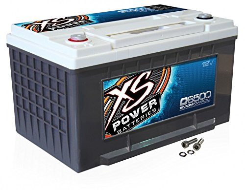 XS Power D6500 12V 3,900 Amps CCA 1070 AGM Car Battery