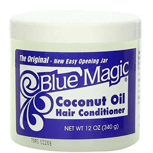 Blue Magic Coconut Oil Hair Conditioner 12 oz (Pack of 4)