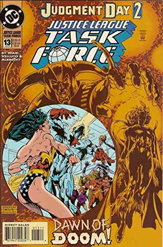 - Justice League Task Force #13 VF/NM ; DC comic book