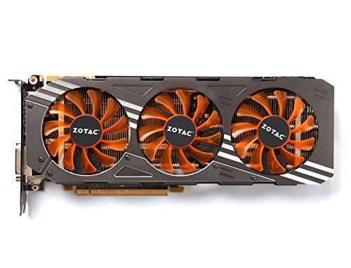 Zotac NVIDIA ZT-90204-10P GeForce GTX 980 AMP Edition 4GB GDDR5 DVI/HDMI/3 Display Port PCI-Express SLI Supported Video Card (Renewed)