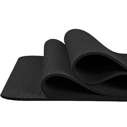 Almohadilla de caucho natural de 4MM verde insípido Yoga mat ...