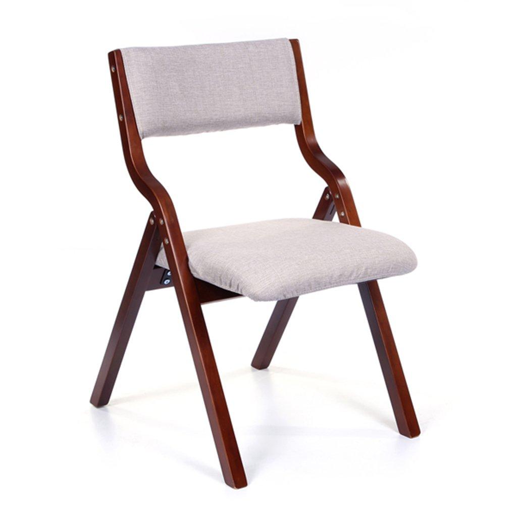 リビングシートカバーと背もたれ、オフィスインドアレストランのスーツと大人用、布張りのシートスツールのための木製の折り畳みキッチンチェア (色 : Style-3) B07F163QPD Style-3 Style-3