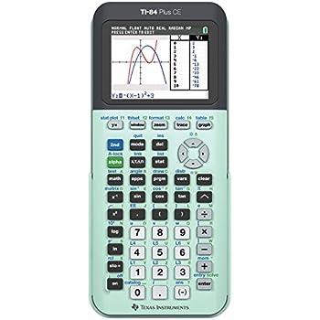Amazon.com : Texas Instruments TI-84 Plus CE Lightning Graphing ...