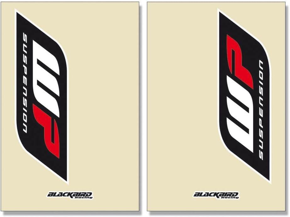 Adesivo da parete con forcella Crystal Trasparente WP 2 Pcs 5045 W Blackbird Racing 38997