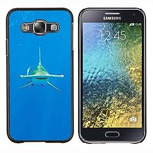 Dragon Case - FOR Samsung Galaxy E5 E500 - shark diving ocean tropical water sea - Caja protectora de pl??stico duro de la cubierta Dise?¡Ào Slim Fit