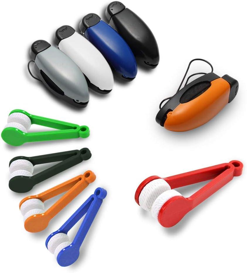 Jumine 5 X Brillen Clip Für Auto Sonnenblende Sonnenbrillen Halter 5 X Mini Sonnenbrillenreiniger Auto