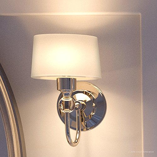 Luxury Cosmopolitan Wall Sconce, Small Size: 8.75